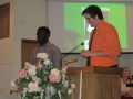 Wesley Clark Presenting